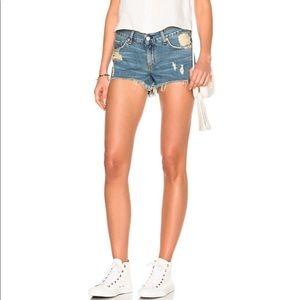 Rag & Bone Distressed Denim Cutoff Shorts